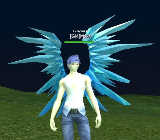 Крылья синей бабочки